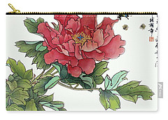 Heavenly Flower Carry-all Pouch
