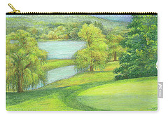 Heavenly Golf Day Landscape Carry-all Pouch