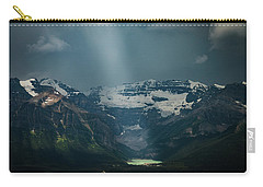 Carry-all Pouch featuring the photograph Heavenly Lake Louise by William Lee
