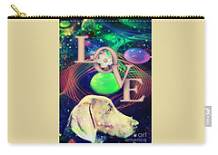 Carry-all Pouch featuring the digital art Heavenly Love by Kathy Tarochione