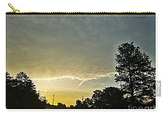 Carry-all Pouch featuring the photograph Heavenly Morning In Helena by Maria Urso