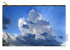 Carry-all Pouch featuring the photograph Heavenly Sunlight by Kathryn Meyer