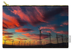 Carry-all Pouch featuring the photograph Heavenly Sunrise by Chris Tarpening