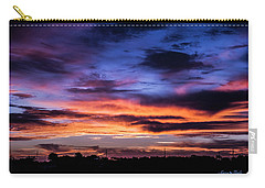 Heavenly Sunrise Carry-all Pouch by Karen Slagle