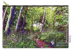 Heavenly Walk Among Birch And Aspen Carry-all Pouch by Jane Small