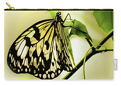 Carry-all Pouch featuring the photograph Heaven's Door Hath Opened by Karen Wiles