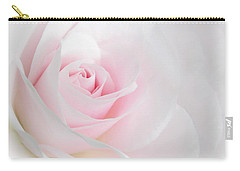 Heaven's Light Pink Rose Flower Carry-all Pouch