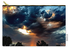 Carry-all Pouch featuring the photograph Heaven's Paint Brush by Chris Tarpening