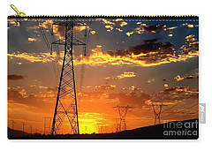 Carry-all Pouch featuring the photograph Heavens Paintbrush by Chris Tarpening
