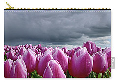 Heavy Clouds Carry-all Pouch by Mihaela Pater