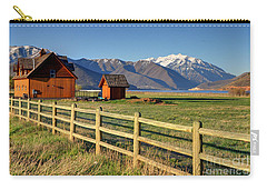 Heber Valley Ranch House - Wasatch Mountains Carry-all Pouch