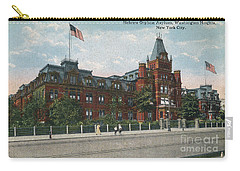 Carry-all Pouch featuring the photograph Hebrew Orphan Asylum by Cole Thompson