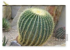 Hedgehog Cactus Carry-all Pouch