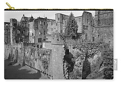 Carry-all Pouch featuring the photograph Heidelberg Castle Behind The Scenes by Corinne Rhode