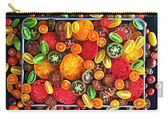 Heirloom Tomato Medley Carry-all Pouch
