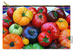Heirloom Tomatoes Carry-all Pouch