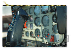 Helicopter Cockpit Carry-all Pouch by Micah May