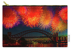 Carry-all Pouch featuring the photograph Hellgate Independence Celebration by Chris Lord