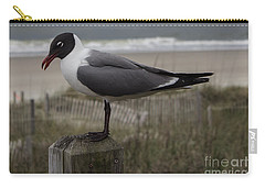 Hello Friend Carry-all Pouch by Roberta Byram