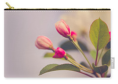 Carry-all Pouch featuring the photograph Hello Spring by Yvette Van Teeffelen