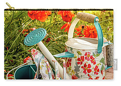 Carry-all Pouch featuring the photograph Hello Summer by Teri Virbickis