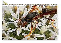 Hello, Wasp Carry-all Pouch