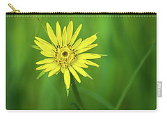 Carry-all Pouch featuring the photograph Hello Wild Yellow by Bill Pevlor