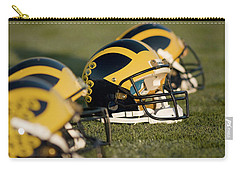 Helmets On The Field Carry-all Pouch