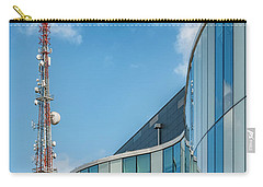 Carry-all Pouch featuring the photograph Helsingborg Arena Concert Hall by Antony McAulay