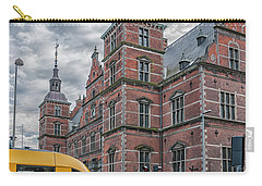 Carry-all Pouch featuring the photograph Helsingor Train Station by Antony McAulay