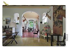 Hemingways' Cuba House Entrance No. 10 Carry-all Pouch