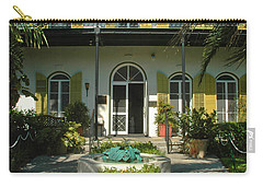 Hemingways House Key West Carry-all Pouch