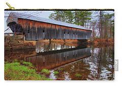 Hemlock Covered Bridge Fryeburg Maine Carry-all Pouch