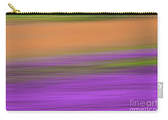 Carry-all Pouch featuring the photograph Henbit Abstract - D010049 by Daniel Dempster