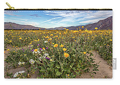 Henderson Canyon Super Bloom Carry-all Pouch by Peter Tellone