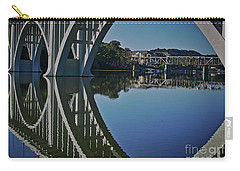Carry-all Pouch featuring the photograph Henley Street Bridge by Douglas Stucky