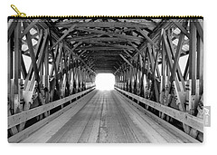 Henniker Covered Bridge Carry-all Pouch by Greg Fortier