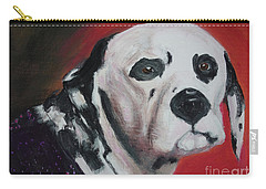 Carry-all Pouch featuring the painting Henry by Lyric Lucas