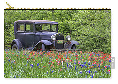 Carry-all Pouch featuring the photograph Henry The Vintage Model T Ford Automobile by Robert Bellomy