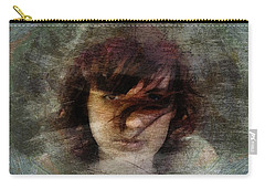 Her Dark Story Carry-all Pouch by Gun Legler