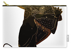 Hercules And The Nemean Lion Carry-all Pouch by Tracey Harrington-Simpson