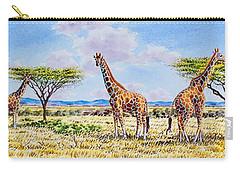 Herd Of Giraffe Carry-all Pouch
