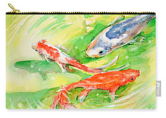 Here Comes Moby Carry-all Pouch by Judith Levins