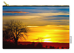 Here Comes The Sun Carry-all Pouch by James BO  Insogna