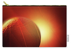 Here Comes The Sun Carry-all Pouch by John Krakora