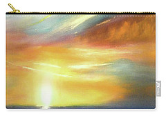Here It Goes - Vertical Colorful Sunset Carry-all Pouch