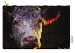 Hereford Cow Carry-all Pouch