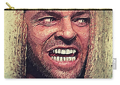 Here's Johnny - The Shining  Carry-all Pouch by Taylan Apukovska