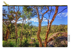 Carry-all Pouch featuring the photograph Heritage View, John Forest National Park by Dave Catley