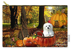 Hermes And Pumpkins Carry-all Pouch